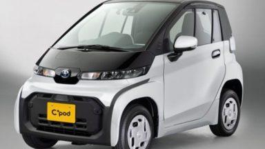 Toyota: ecco C+pod, l'auto elettrica per la giungla urbana