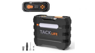 Compressore per auto portatile multi-funzione a meno di 20€
