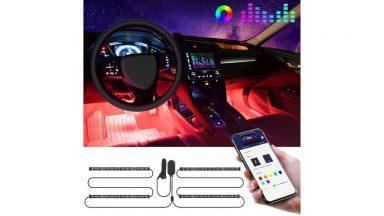 Striscia LED per automobile a meno di 20 euro su Amazon