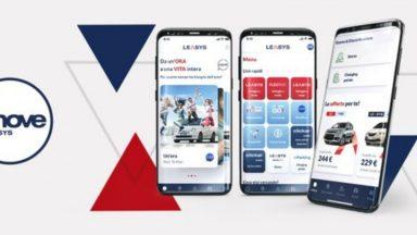 Leasys UMOVE: accesso tramite app ai servizi e alle offerte