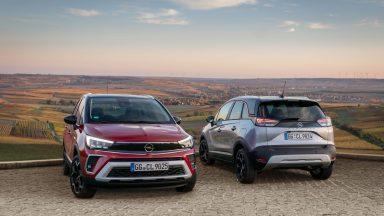 Opel Crossland: al debutto la nuova gamma Model Year 2022