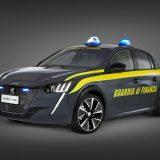 Peugeot e-208: auto elettrica per la Guardia di Finanza