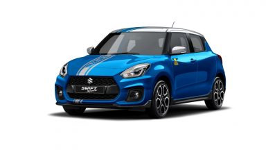 Suzuki Swift Sport Hybrid: ecco la World Champion Edition