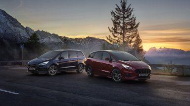 Ford: la versione Hybrid per le monovolume S-Max e Galaxy