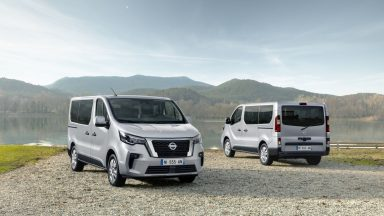 Nissan NV300 Bus: in arrivo la versione combi restyling
