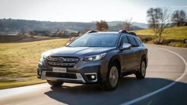 Nuova Subaru Outback: la sesta serie con la gamma MY21