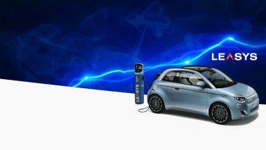 Nuova Fiat 500e: il noleggio Electric Experience di Leasys