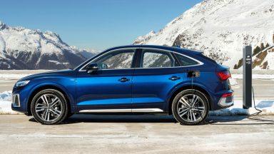 Audi Q5 Sportback: la versione a propulsione ibrida Plug-In