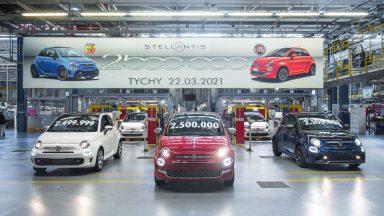 Fiat 500: prodotti a Tychy 2,5 milioni di esemplari