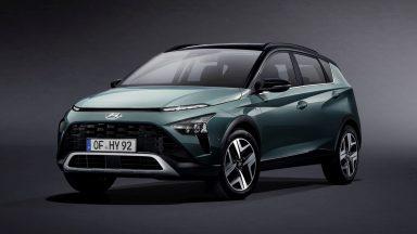 Hyundai Bayon: ecco l'inedita SUV di piccole dimensioni
