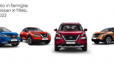 Nuova Nissan X-Trail: in arrivo la quarta generazione