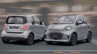 Smart: la versione speciale racingrey di fortwo e forfour