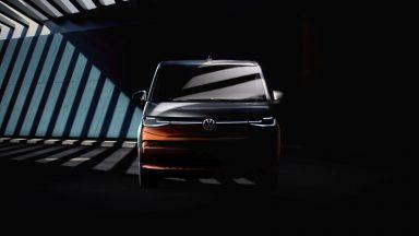 Volkswagen Multivan: i teaser che anticipano il modello T7