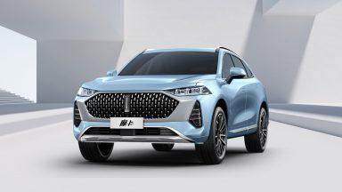 Wey V71: la SUV premium cinese per il mercato europeo