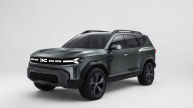 Dacia Bigster: la futura SUV low cost a sette posti