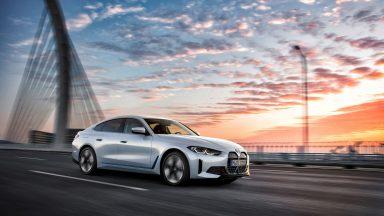 BMW i4: nuovo modello sportivo a propulsione elettrica
