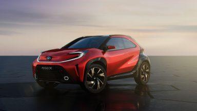 Toyota Aygo: in arrivo la terza generazione della citycar