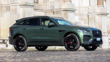 Jaguar F-Pace: le versioni speciali Greenstone e Greystone
