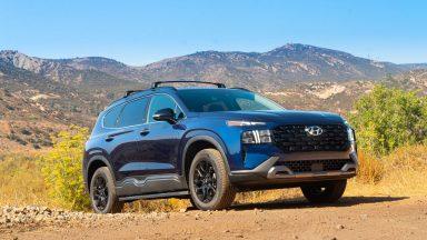 Hyundai Santa Fe: look da fuoristrada con l'allestimento XRT