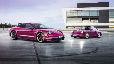 Porsche Taycan: le novità della gamma Model Year 2022