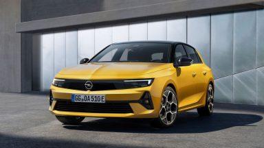 Nuova Opel Astra: dal 2023 sarà anche in versione elettrica