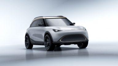 Smart formore: la futura piccola SUV a propulsione elettrica