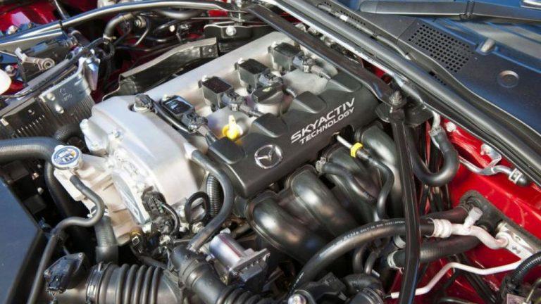Foto del motore di Mazda MX-5