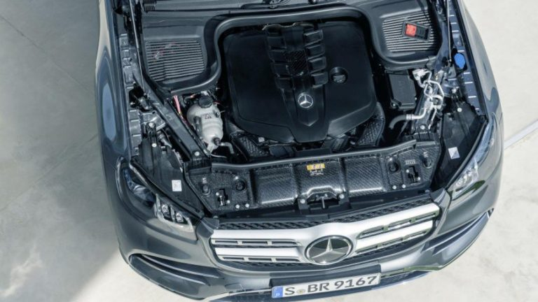 Foto del motore di Mercedes-Benz GLS GLS 400 d 4Matic Premium Plus