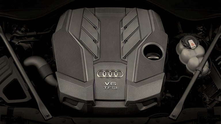 Foto del motore di Audi A8
