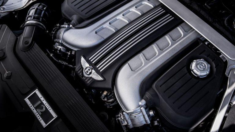 Foto del motore di Bentley Continental GT
