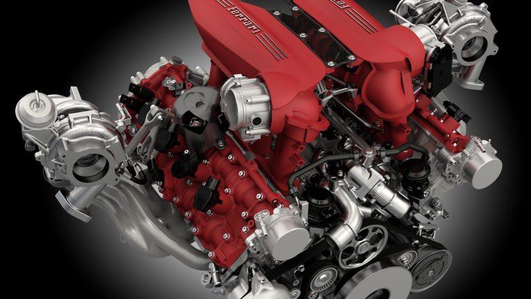 Foto del motore di Ferrari 488 GTB 488 GTB 4.0 V8 670cv