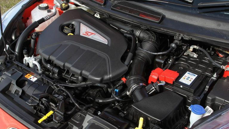 Foto del motore di Ford Fiesta ST