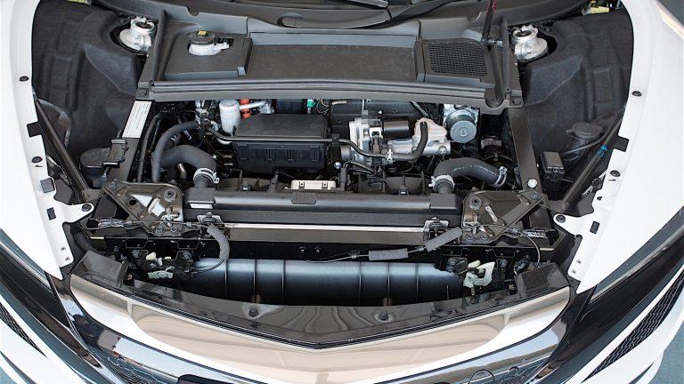 Foto del motore di Honda NSX