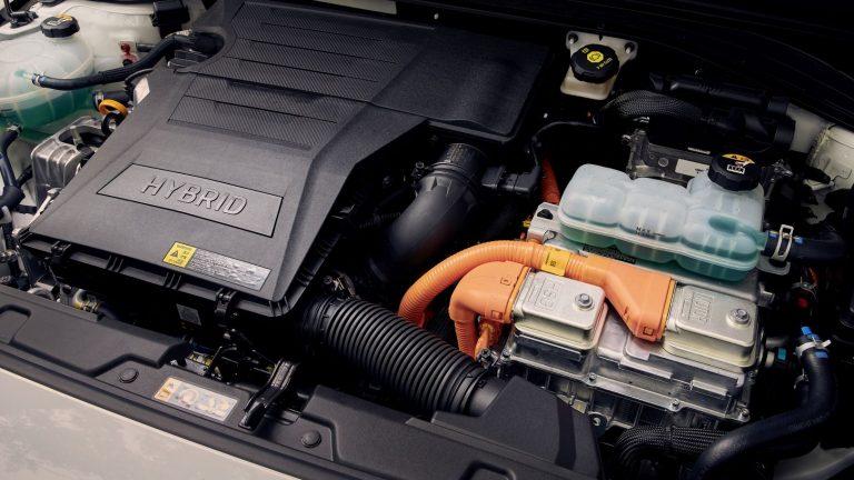 Foto del motore di Hyundai Ioniq
