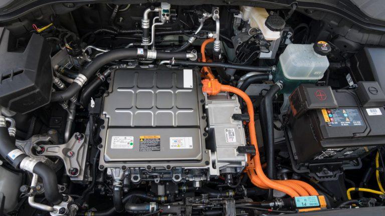 Foto del motore di Hyundai Kona Electric