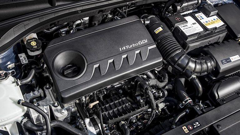 Foto del motore di Hyundai i30 Fastback