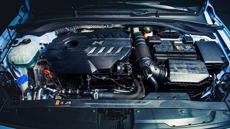 Foto del motore di Hyundai i30 N