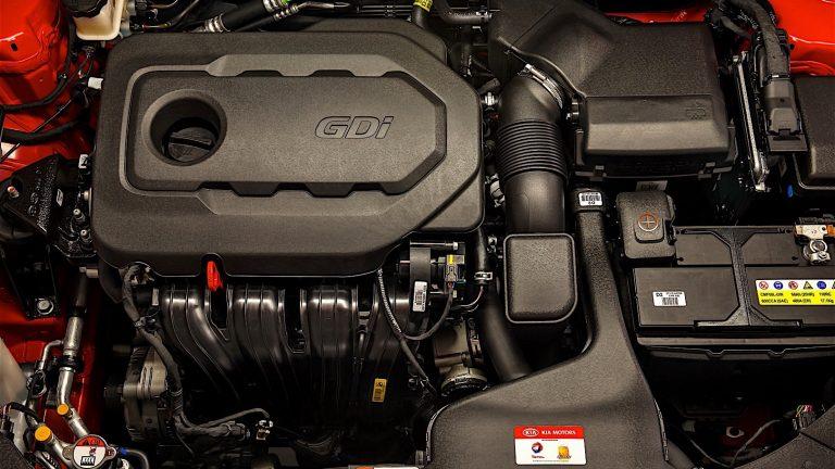 Foto del motore di KIA Optima