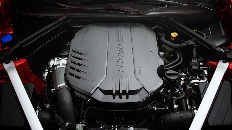 Foto del motore di KIA Stinger