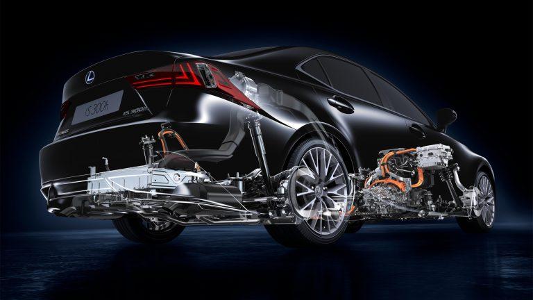Foto del motore di Lexus IS Hybrid IS Hybrid 300h F Sport