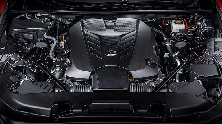 Foto del motore di Lexus LC LC 3.5 Hybrid Limited Edition
