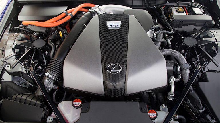 Foto del motore di Lexus LC