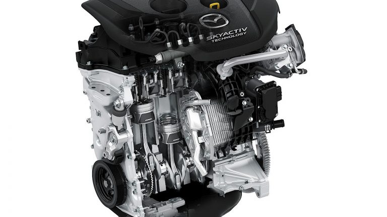 Foto del motore di Mazda Mazda2 2 1.5 Skyactiv-G 75cv Essence