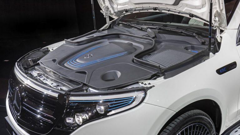Foto del motore di Mercedes-Benz EQC EQC 400 MATIC Premium