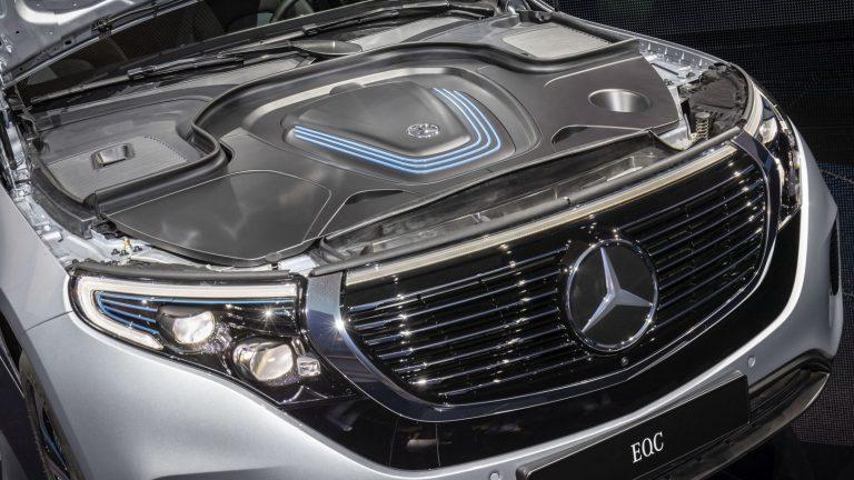 Foto del motore di Mercedes-Benz EQC