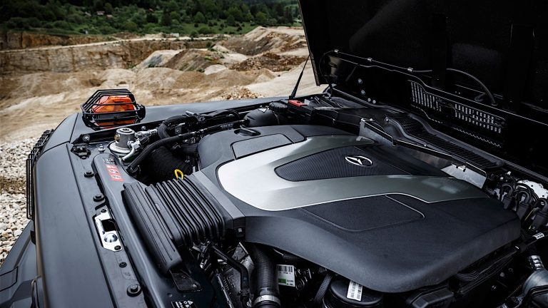 Foto del motore di Mercedes-Benz Classe G