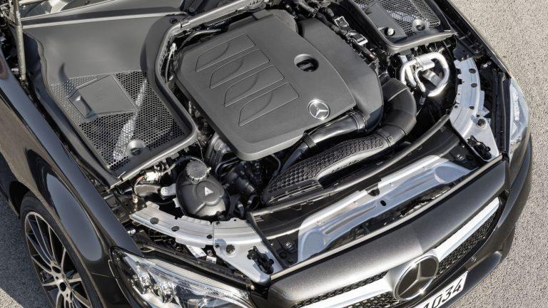 Foto del motore di Mercedes-Benz Classe C Classe C C200 Sport Auto