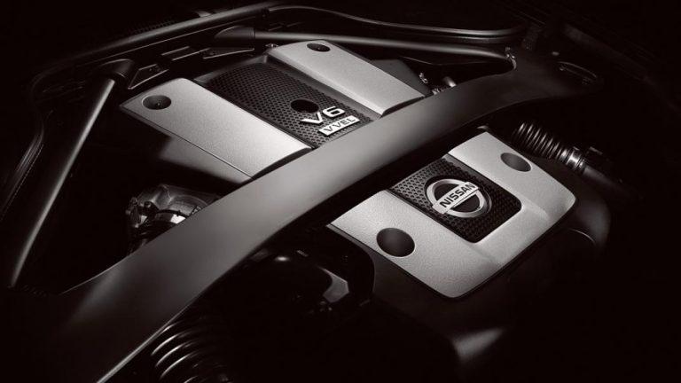 Foto del motore di Nissan 370 Z