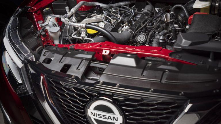 Foto del motore di Nissan Qashqai Qashqai 1.7 dCi 150 4WD Tekna+ CVT