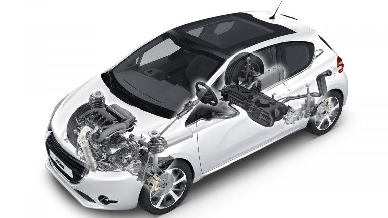 Foto del motore di Peugeot 208 208 Allure PureTech 100 S/S